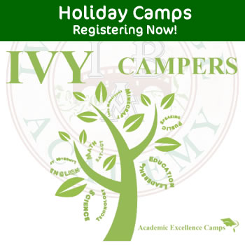 Academic Holiday Camps at Ivy Bridge Academy